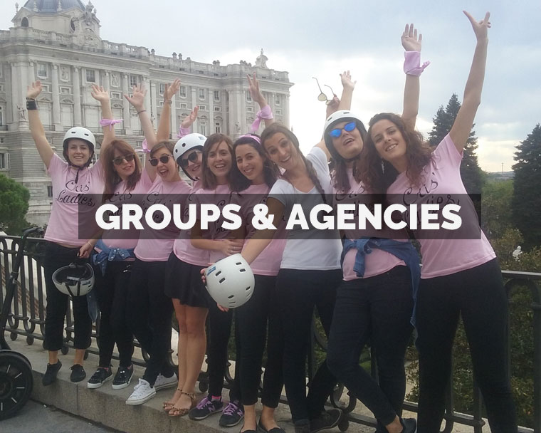 Segway Madrid Groups & Agencies