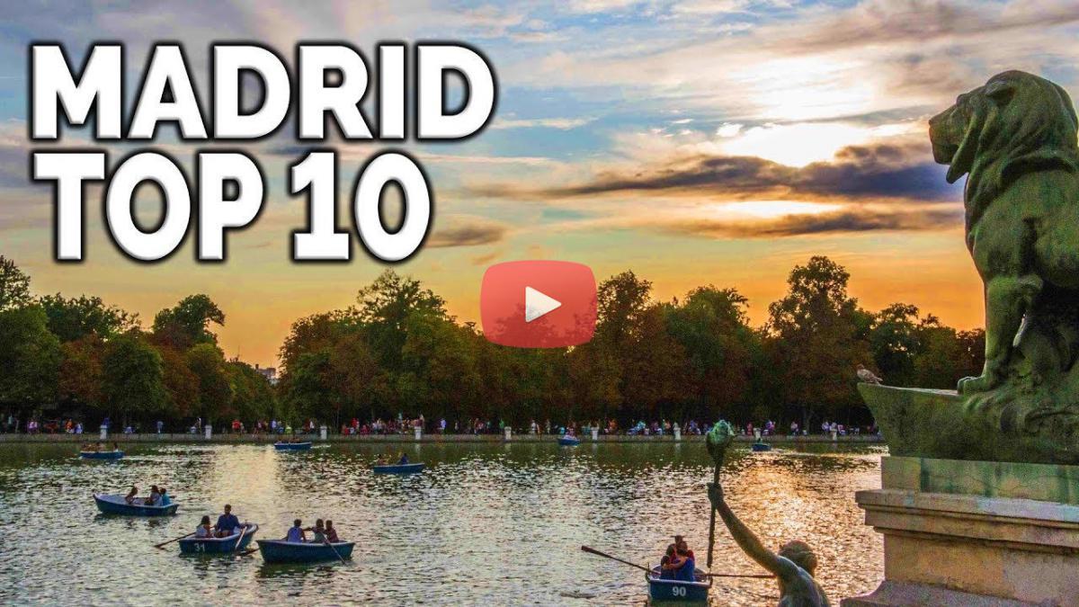 MADRID TOP 10: Lugares qué ver y visitar en Madrid (España)