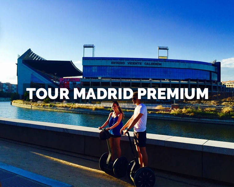 El mejor Segway Madrid Tour