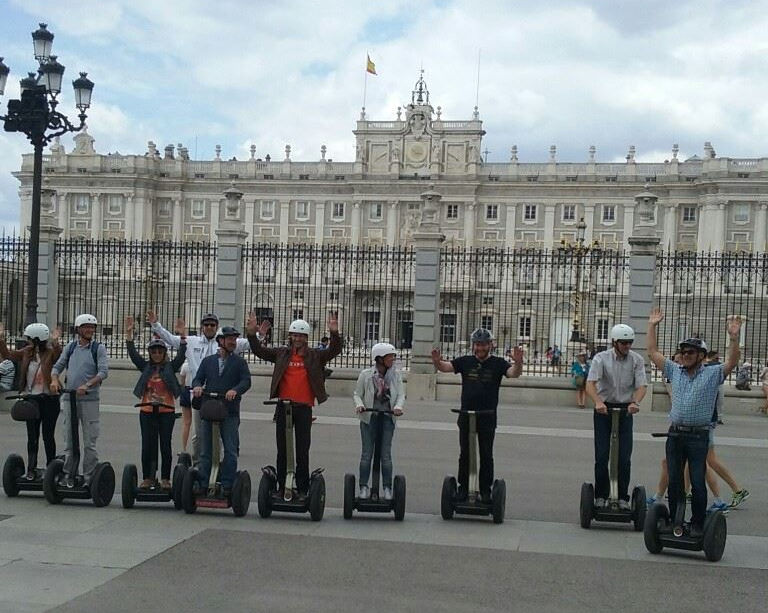 Segway Madrid Tour ¡oferta!