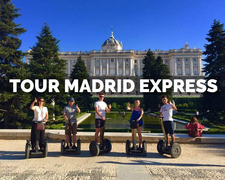 Segway Madrid: ofertas desde 15 €