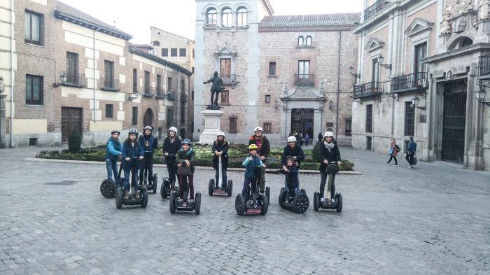 Segway Madrid para grupos y agencias