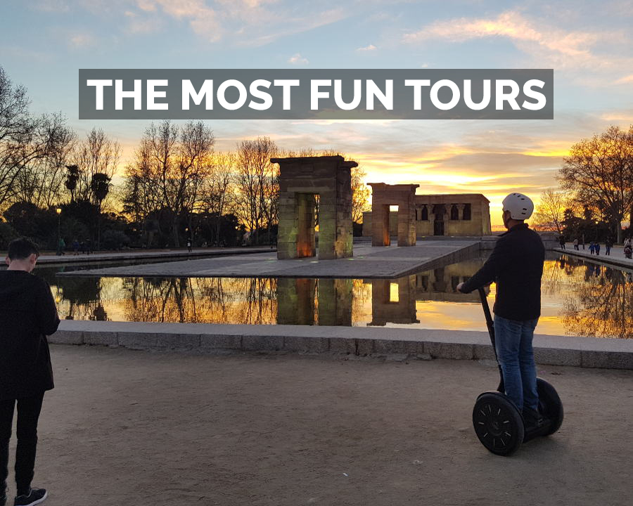 Madrid Segway, the most fun tours