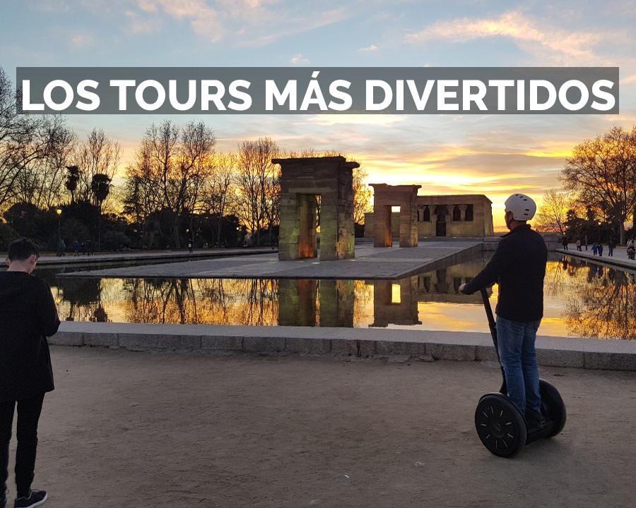 Segway Madrid, los tours más divertidos
