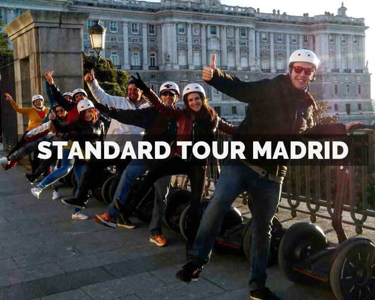 Segway Madrid Standard Tour